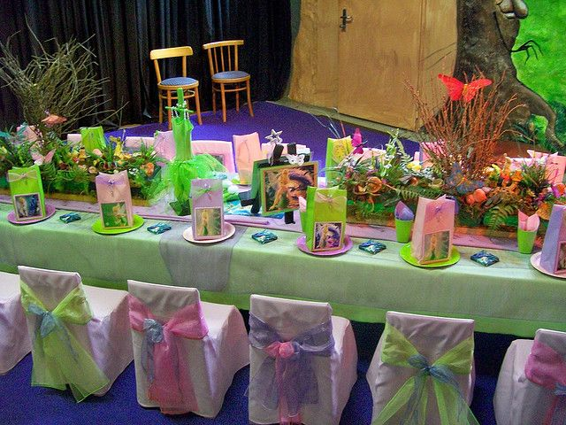Tinkerbell party :)