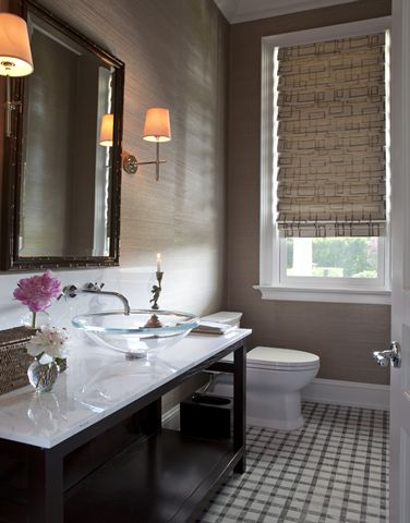 Taupe Wallpapers And Bathroom On Pinterest
