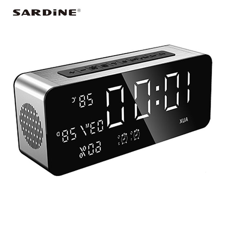 Newest Sardine A10 bluetooth speaker AUX MP3 radio FM 5000hAm soundbar with power bank best woofer music column for home theater