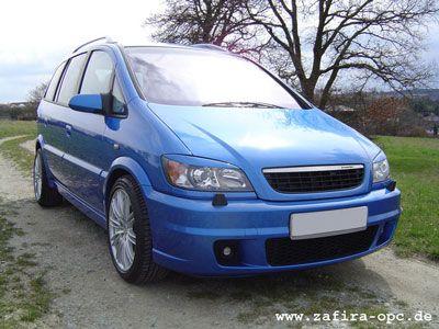2004 Opel Zafira A OPC