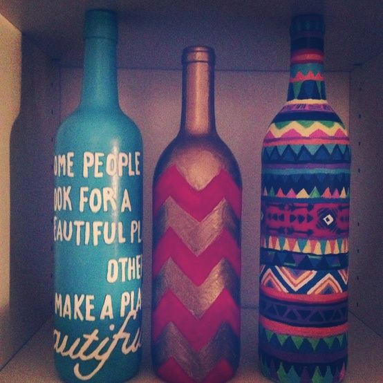 38 best low cost easy home staging tips and upgrades for for Alcohol bottle crafts