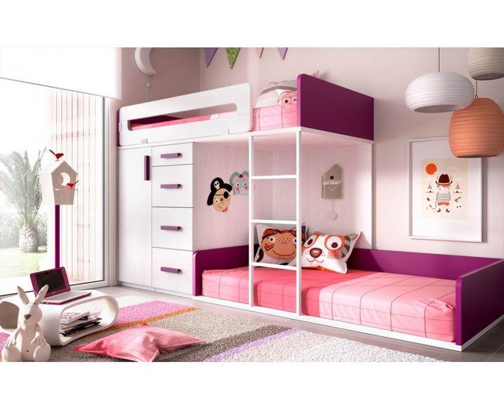Dormitorio Juvenil Modelo Joven 21