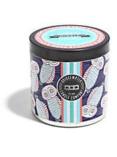 Bridgewater Candle Company Blue Owls Tin Scented Candle,