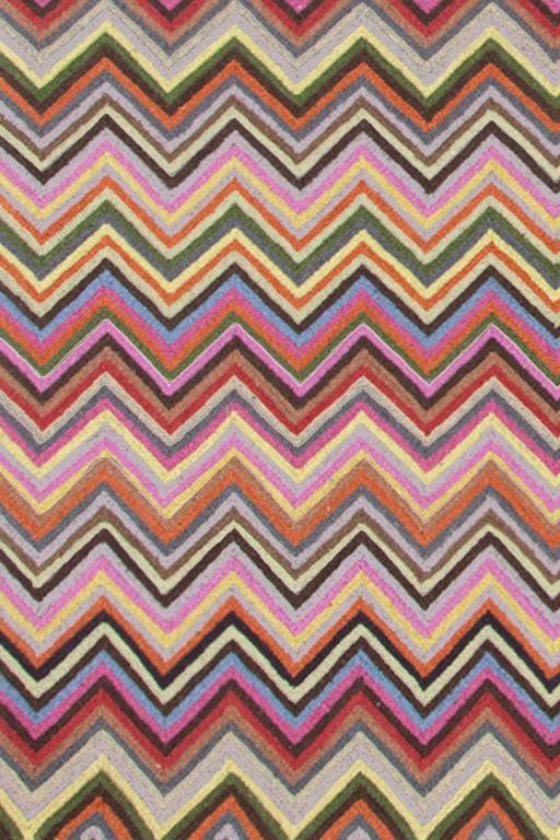 Colorful Multi Color Zig Zag Rug Dash Amp Albert Zigzag