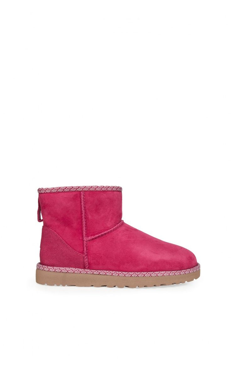 Boots Classic Mini Scallop PINK - passion for colors ss15 - Raglady
