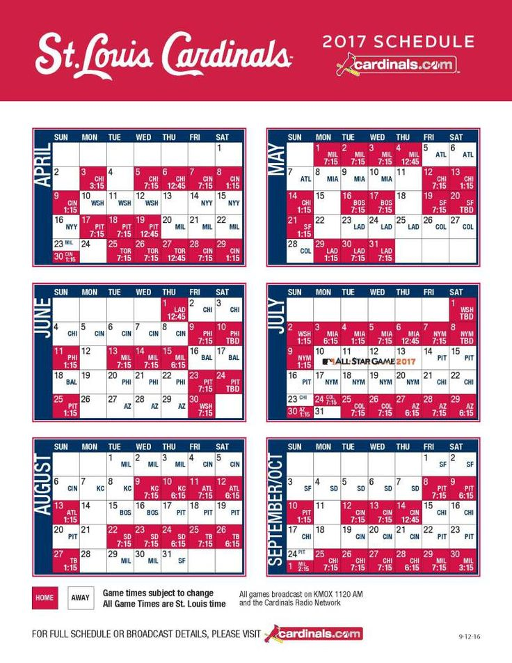 ST. LOUIS, MO (KTVI) – The Cardinals have announced their 2017 regular season…