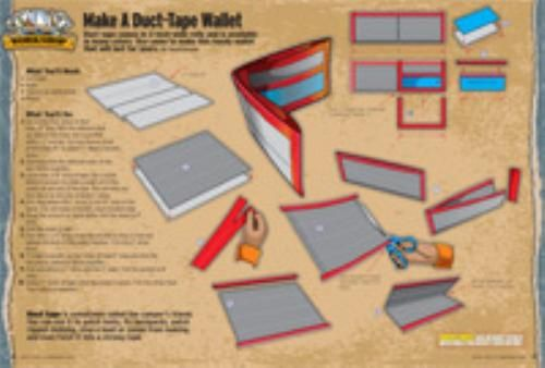 Nerdy image inside duct tape wallet instructions printable