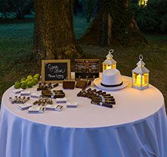 Cigar bar Idea originale intrattenimento ospiti matrimonio