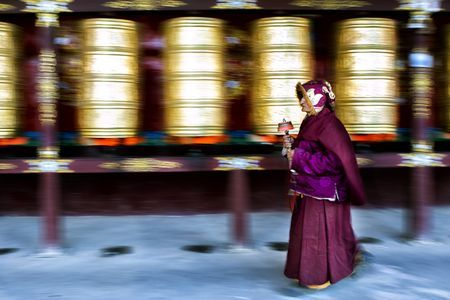 An Old Tibetan Woman Photo by Sharon Wan - 2017 National Geographic Travel Photographer of the Year