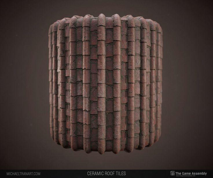 ArtStation - Ceramic Roof Tiles, Michael Tran