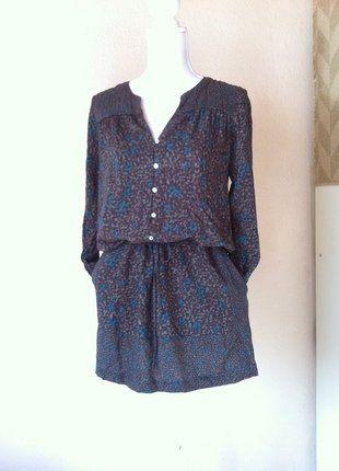 Kaufe meinen Artikel bei #Kleiderkreisel http://www.kleiderkreisel.de/damenmode/klassische-kleider/147326700-susses-edc-retro-kleid-baumwolle-mit-floralen-druck-36