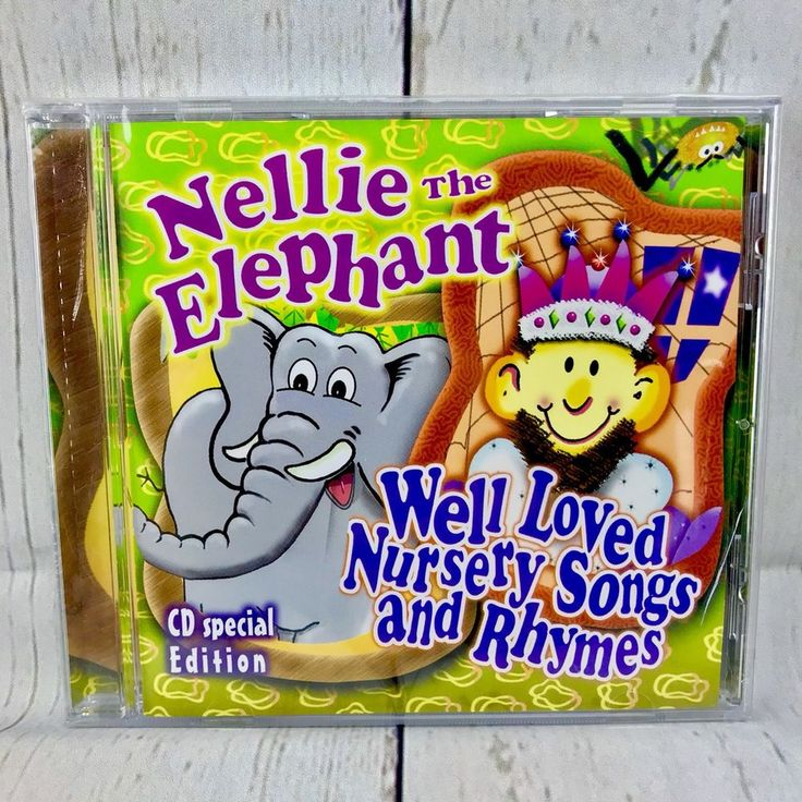 Nellie the Elephant & Well Loved Nursery Songs CD BRAND NEW SEALED WOW LOOK 👀