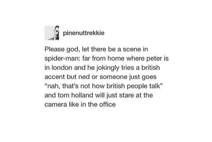I Need It To Be His Actual Accent And Not The Bad Fake One He Did