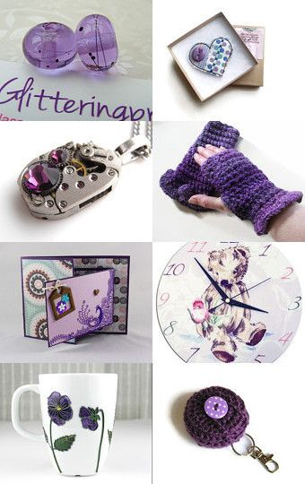 Perfect Purple by Carolyn Ford on Etsy--Pinned with TreasuryPin.com