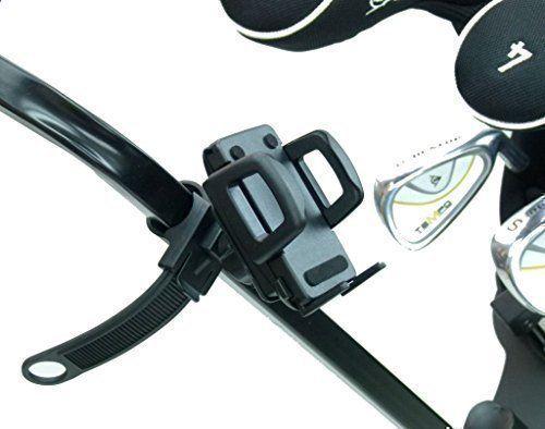 Locking Strap Golf Trolley / Cart Mount Holder for Garmin Appraoch G6 G7 G8 GPS (sku 19749)