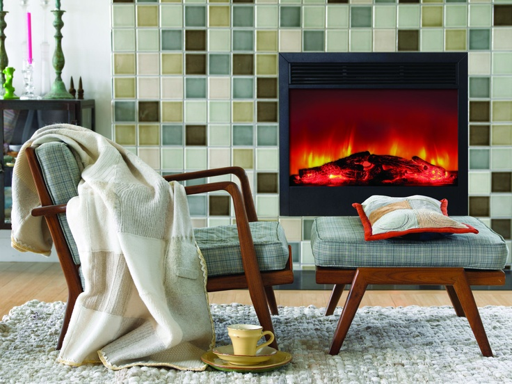 14 best Electric Fireplace Inserts & Fireboxes images on Pinterest ...