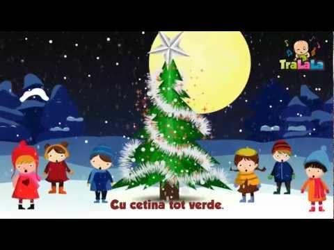 O, brad frumos - Cântece de iarnă pentru copii | TraLaLa - YouTube