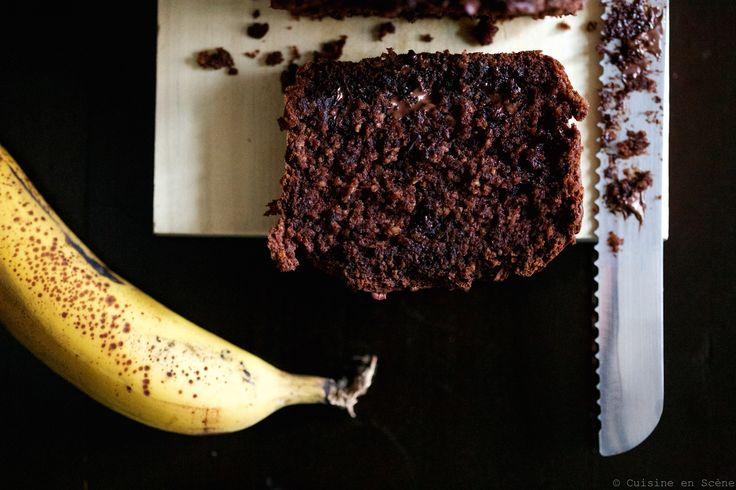 Cake healthy très chocolat