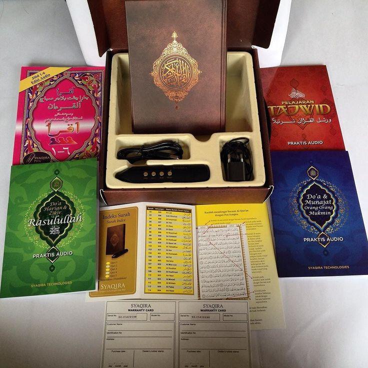 SET BELAJAR MENGAJI DEWASA & KANAK-KANAK . SENARAI QARI : 1. USTAZ MOHD FAKHRUL RADHI KHAMARUDIN Juara Akademi Al-Quran Musim ke-3 (Bacaan secara Murattal yang berlagu)  2. USTAZ AHMAD TARMIZI ABDUL RAHMAN Finalis Akademi Al-Quran Musim ke-3 Qari Rancangan Halaqah TV9 Qari TV Al-Hijrah (Bacaan secara Murattal dengan penekanan terhadap sebutan Tajweed)  PAKEJ : A. BAHAN PRAKTIS AUDIO - Mushaf Al-Quran Rasm Uthmani - Buku Pelajaran Tajweed - Buku Doa Harian & Zikr Rasulullah SAW - Buku Doa…