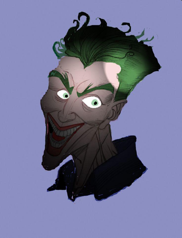 el joker con otro efecto de luz