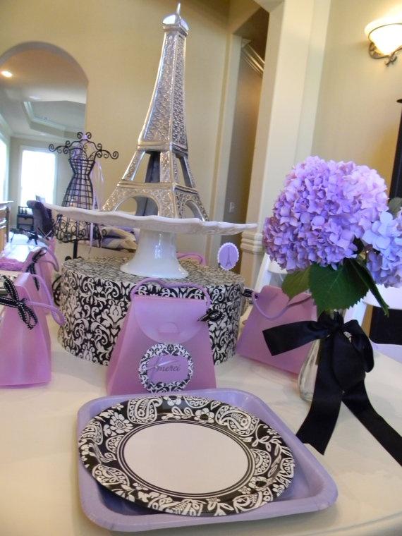 Ooh La La Paris Birthday Party in a Box by Maison Designs