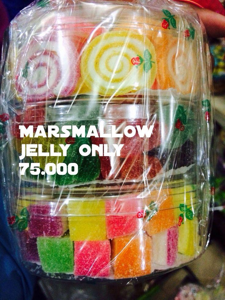 Marsmallow kue Lebaran