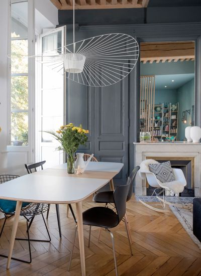 158 best salle a manger images on pinterest room dining room and dining tables Suspension salle a manger