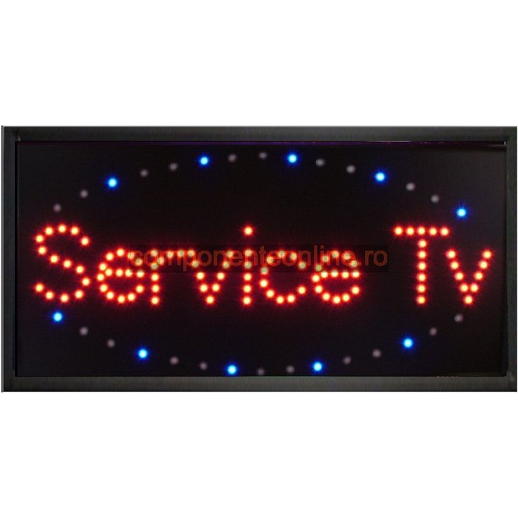 Afisaj cu LED-uri, afisaj Service Tv - 113637