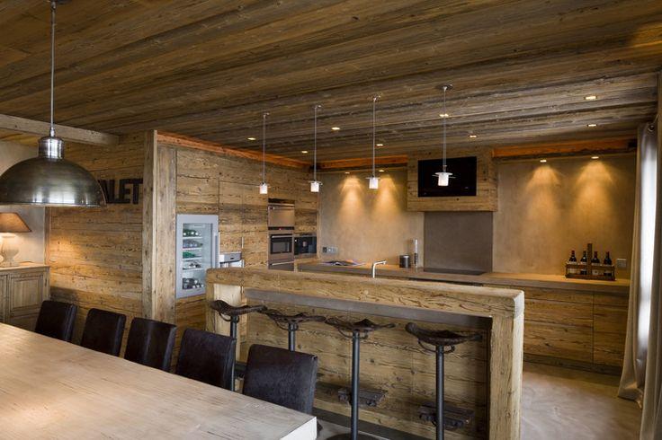 191 best Deco-chalet-montagne images on Pinterest | Kitchens ...