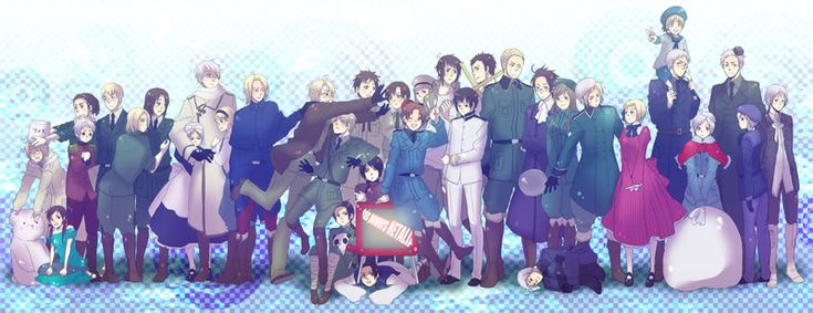Who is your favorite Hetalia character? by TheLemonAlchemist.deviantart.com on @deviantART