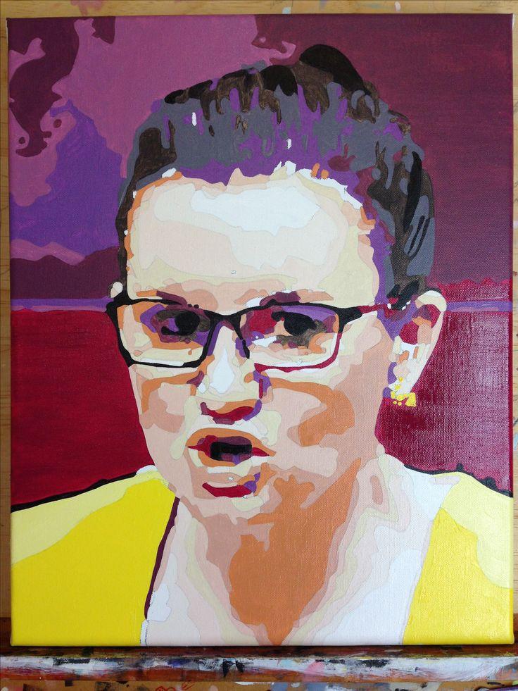 Jacqui Lambi oil on canvas