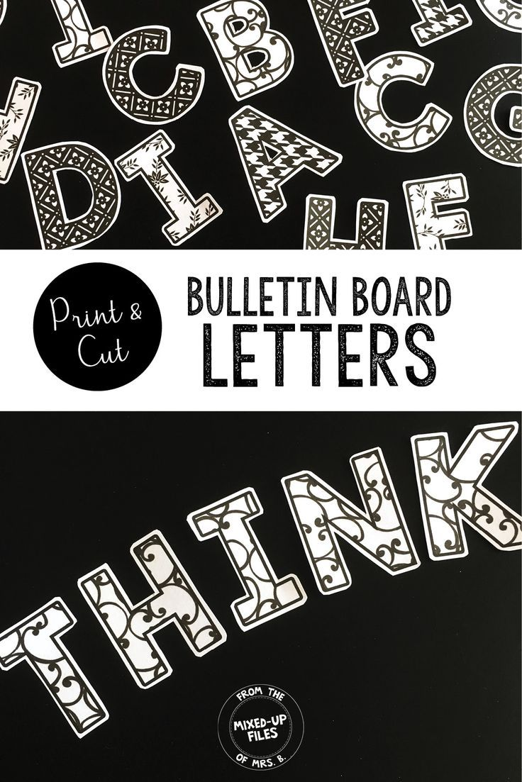 black and white bulletin board letters pinterest bulletin board letters teacher supply store and teacher supplies