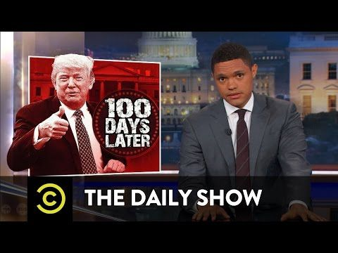 The First 100 Days: Another Presidential Tradition for Trump to Ignore: The Daily Show - YouTube
