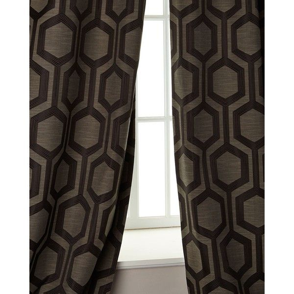 "Softline Home Fashions 96""L Tribeca Curtain (€135) ❤ liked on Polyvore featuring home, home decor, window treatments, curtains, champagne, rod pocket curtains, rod pocket draperies, pole pocket curtains, softline home fashions and softline home fashions curtains"