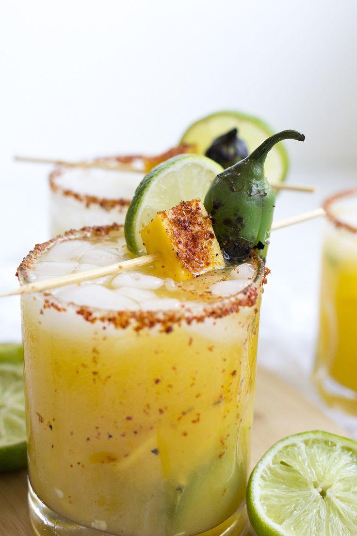 Spicy Mango Jalapeño Margarita Recipe