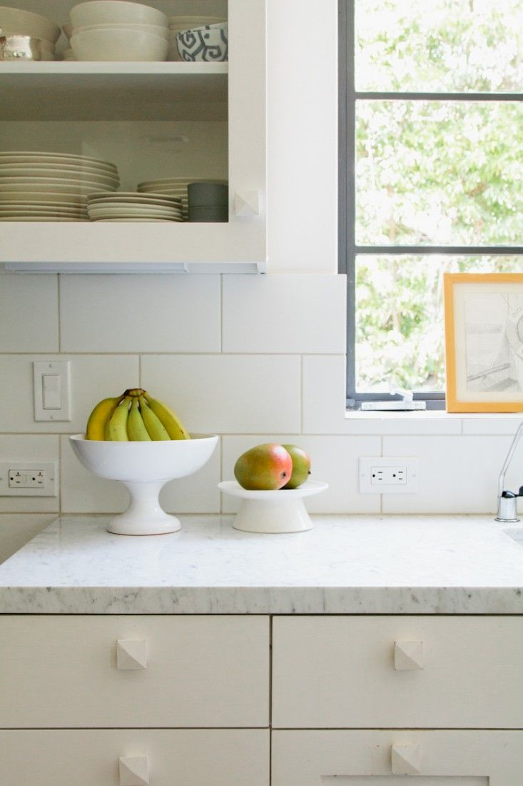 A new england kitchen by way of la - Subway tiles in kitchen pictures ...