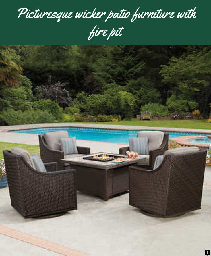 Want To Know More About Wicker Patio Furniture With Fire Pit Just