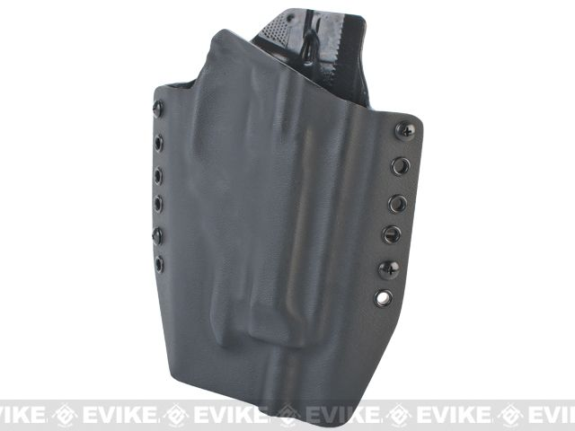 KAOS Concealment Kydex Belt / MOLLE Holster - KWA M93R (Right / Black)