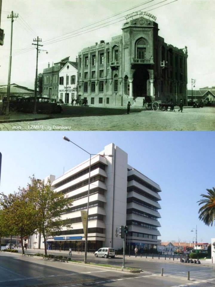 İş Bankası Bölge Müdürlüğü.Aynı zamanda İzmir Şubesi.