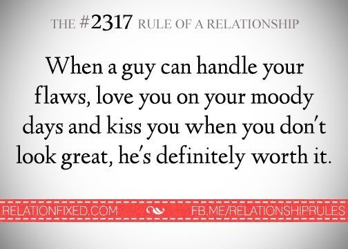relationship rules?