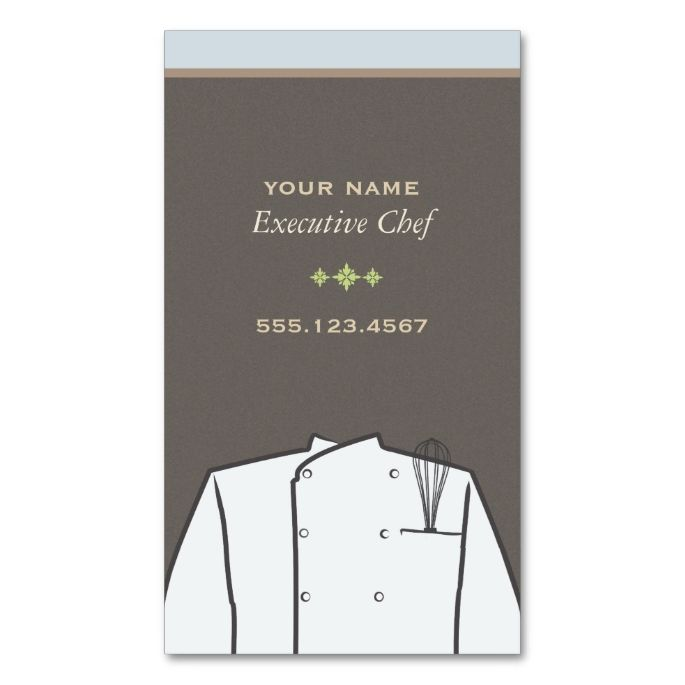 Qualities of an Executive Chef Essay