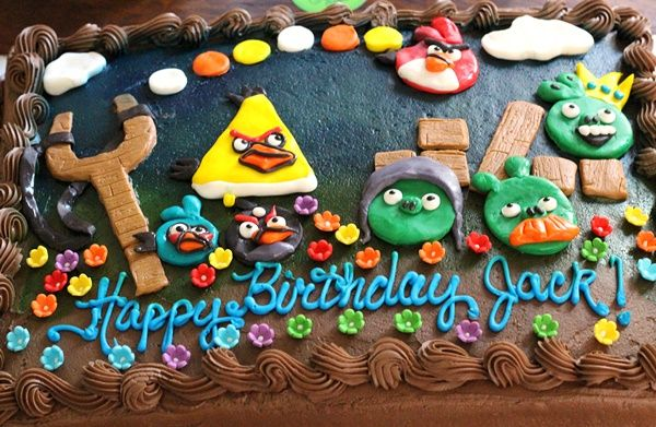 Jam Hands: Angry Birds 6th Birthday Party + Menu