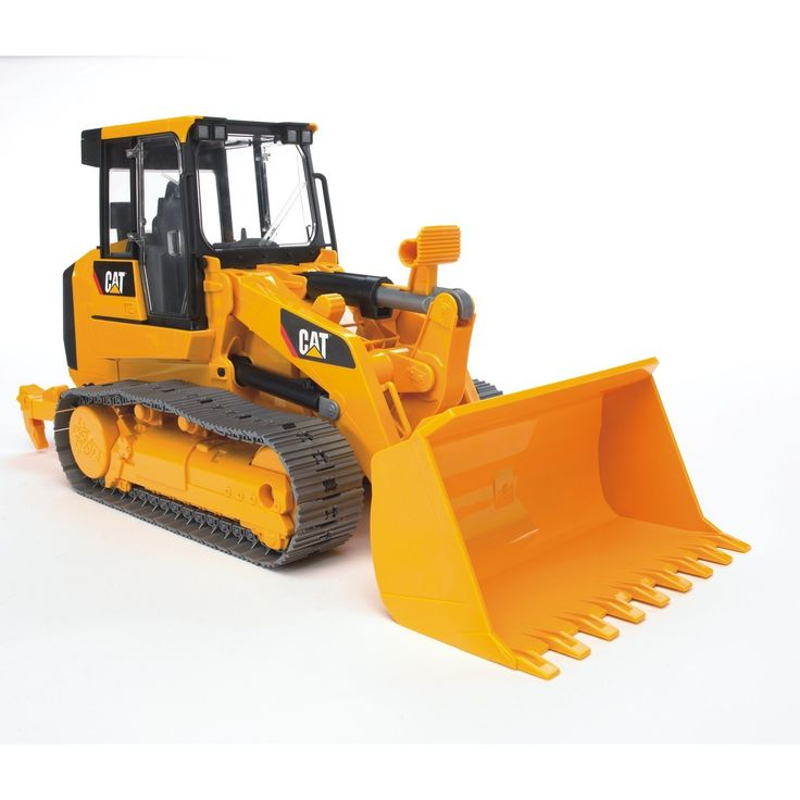 Bruder Toys Yellow Caterpillar Track Loader Toy