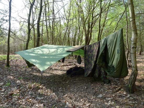 Whether you are camping in the woods for a weekend or staying out for weeks, this bushcraft camping outfit is a good base model.  By keeping your wilderness bushcraft camping equipment as simple and streamlined as possible you'll minimise the amount of kit while maximising its functionality...