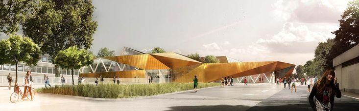 Gallery of Multi-Sports Complex Competition Winning Proposal / Archi5 + Tecnova Architecture - 8