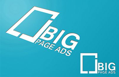 Logo Design for Big Page Ads #logoinspiration