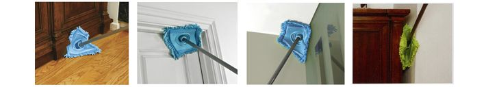 Fuzzy Wuzzy Swooz - Dust, Sweep, Clean, & Mop. A Flexible All Purpose Cleaning Tool. $14.95