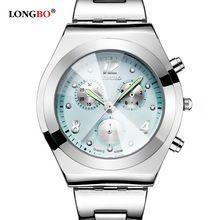 Fashion LONGBO Watch Women Clock 2016 Quartz Wrist Watches Ladies Famous Luxury Brand quartz-watch Relogio Feminino Montre Femme(China (Mainland))