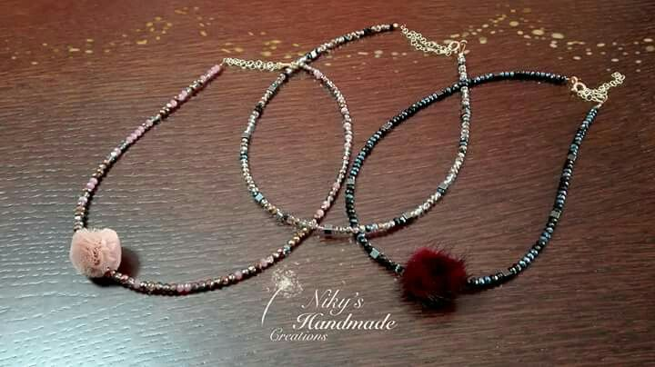 """Necklaces """"Niky's handmade creations*"""