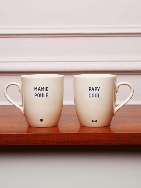 Le mug Mamie Poule EMOI EMOI - Photo                                                                                                                                                                                 Plus